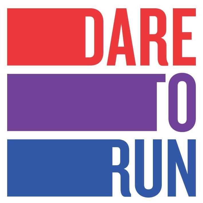 Dare to run logo